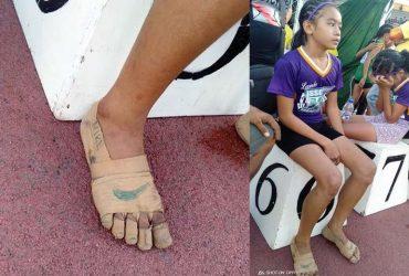 Lembra da menina que competiu descalça? Ela ganhou mais que reconhecimento!