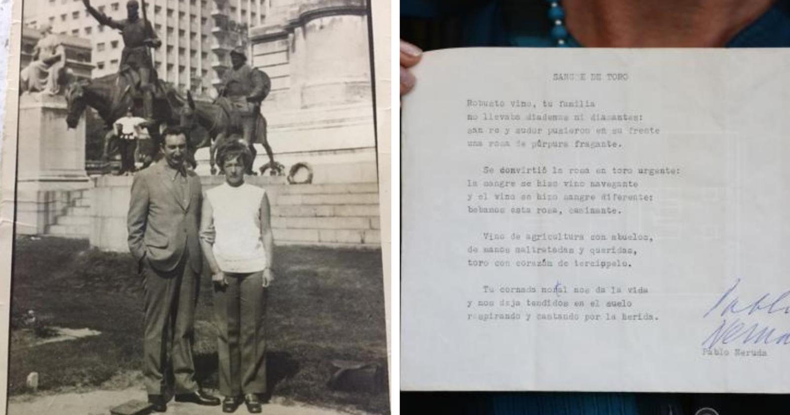 Soneto ORIGINAL de Pablo Neruda é reencontrado 47 anos após sua morte