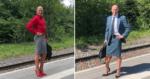 Esse homem optou por usar saias e salto alto, e disse mais: 'roupa não tem gênero'