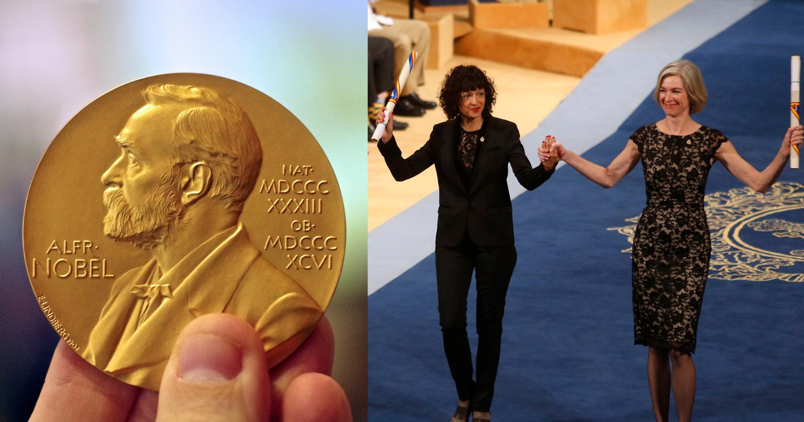 Em feito inédito, dupla de mulheres ganha Nobel de Química com técnica de engenharia genética