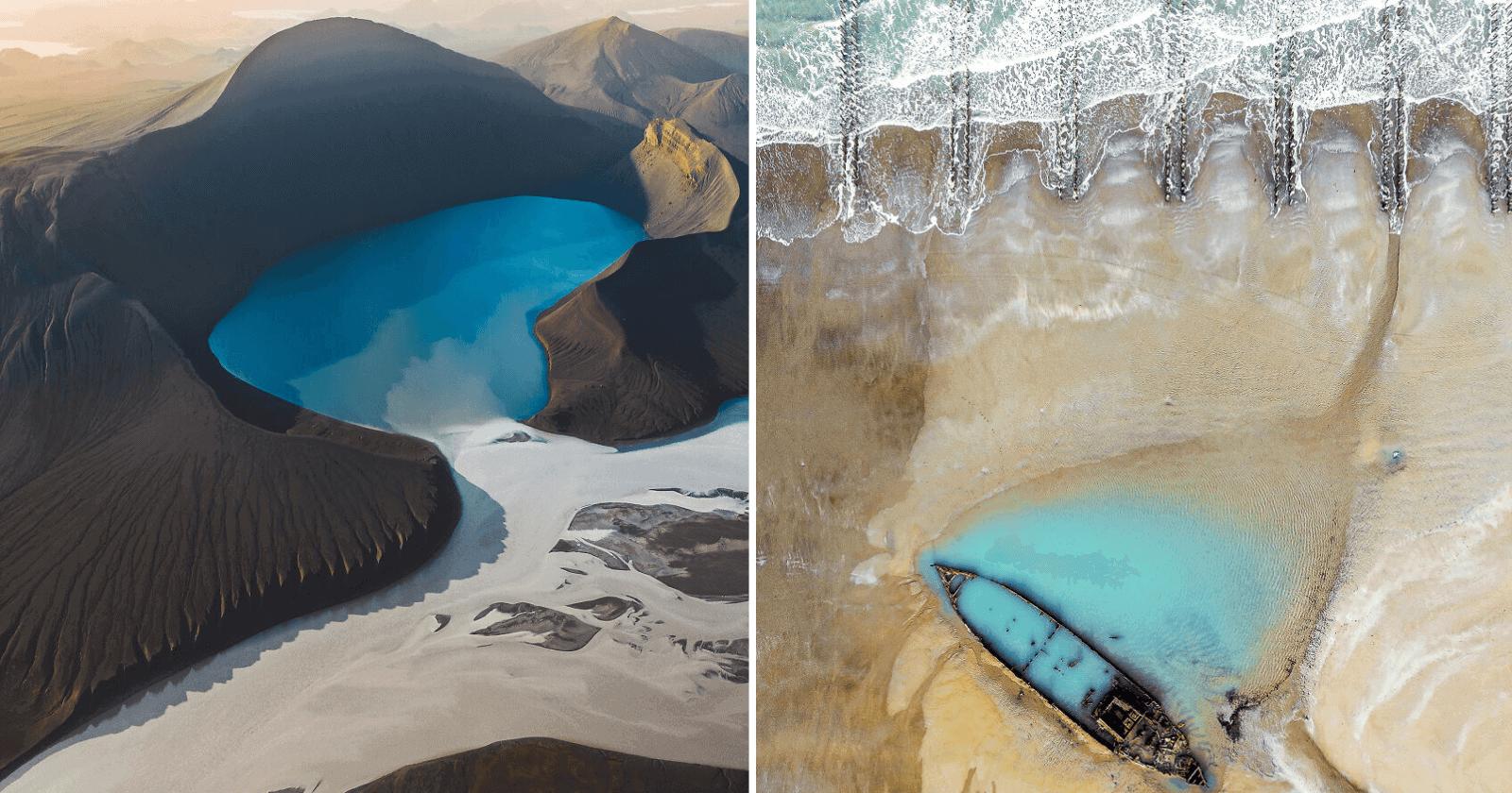 Concurso de fotografia aérea anuncia vencedores e reúne fotos COMPLETAMENTE SURREAIS