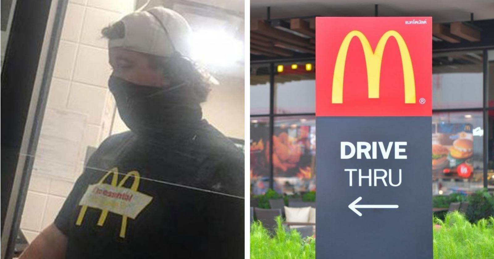 Cliente faz surpresa milionária para jovem atendente do McDonald's que pagou sua conta