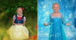 Fotógrafa cria cenários para garotinha de 5 anos com câncer se tornar princesa