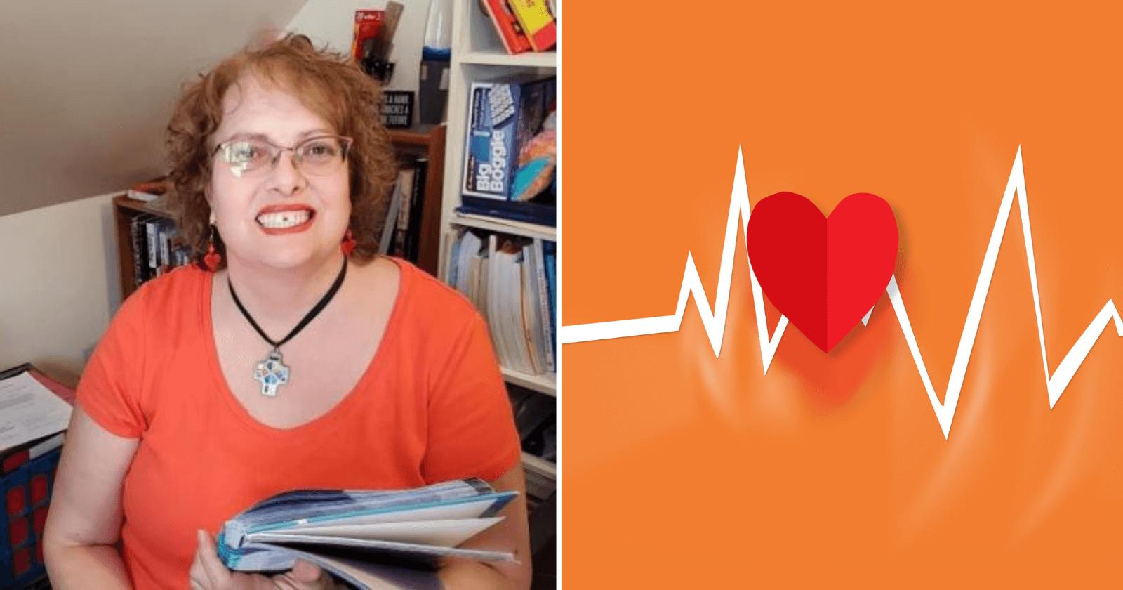 Ao receber uma ligação sobre aulas online, professora salva vovó de um derrame