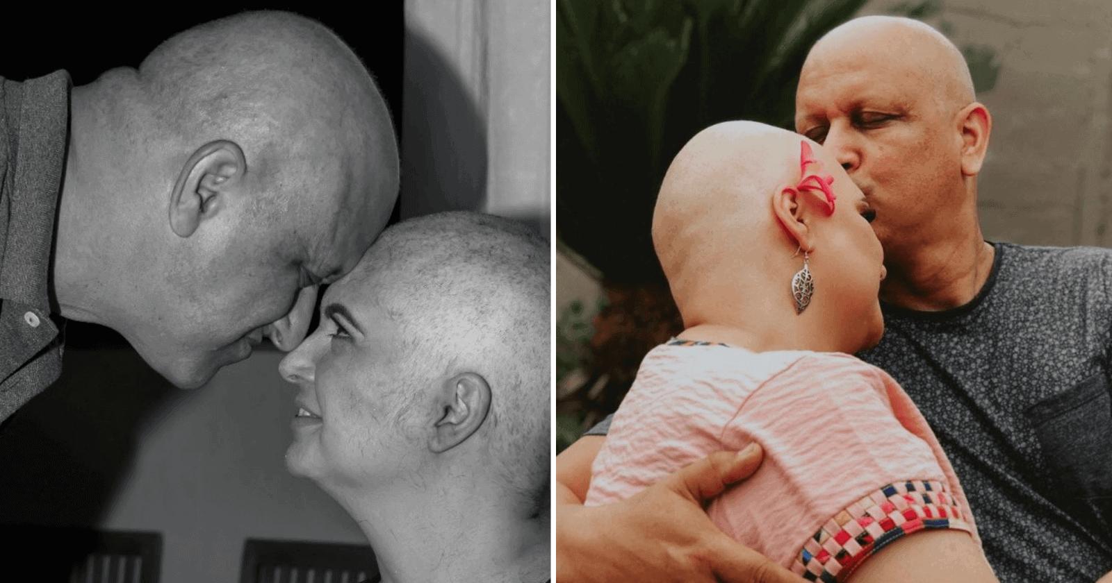 INSPIRAÇÃO: Casal enfrenta câncer juntos e decide pensar no próximo