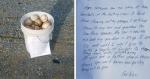 Vovô junta suas antigas bolas de beisebol e deixa mensagem impactante sobre cuidar da família