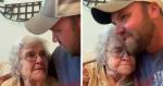 Vídeo de vovó emocionando neto com declaração de amor se torna é uma das coisas mais lindas da web