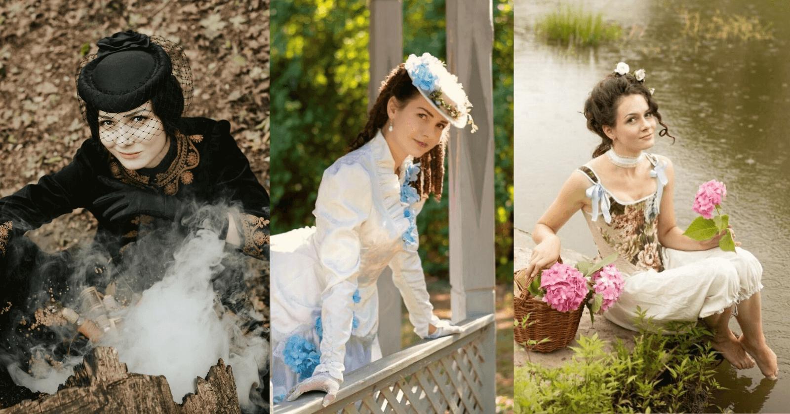 Mulher abandona tendências de moda e decide se vestir APENAS com roupas do SÉCULO 19