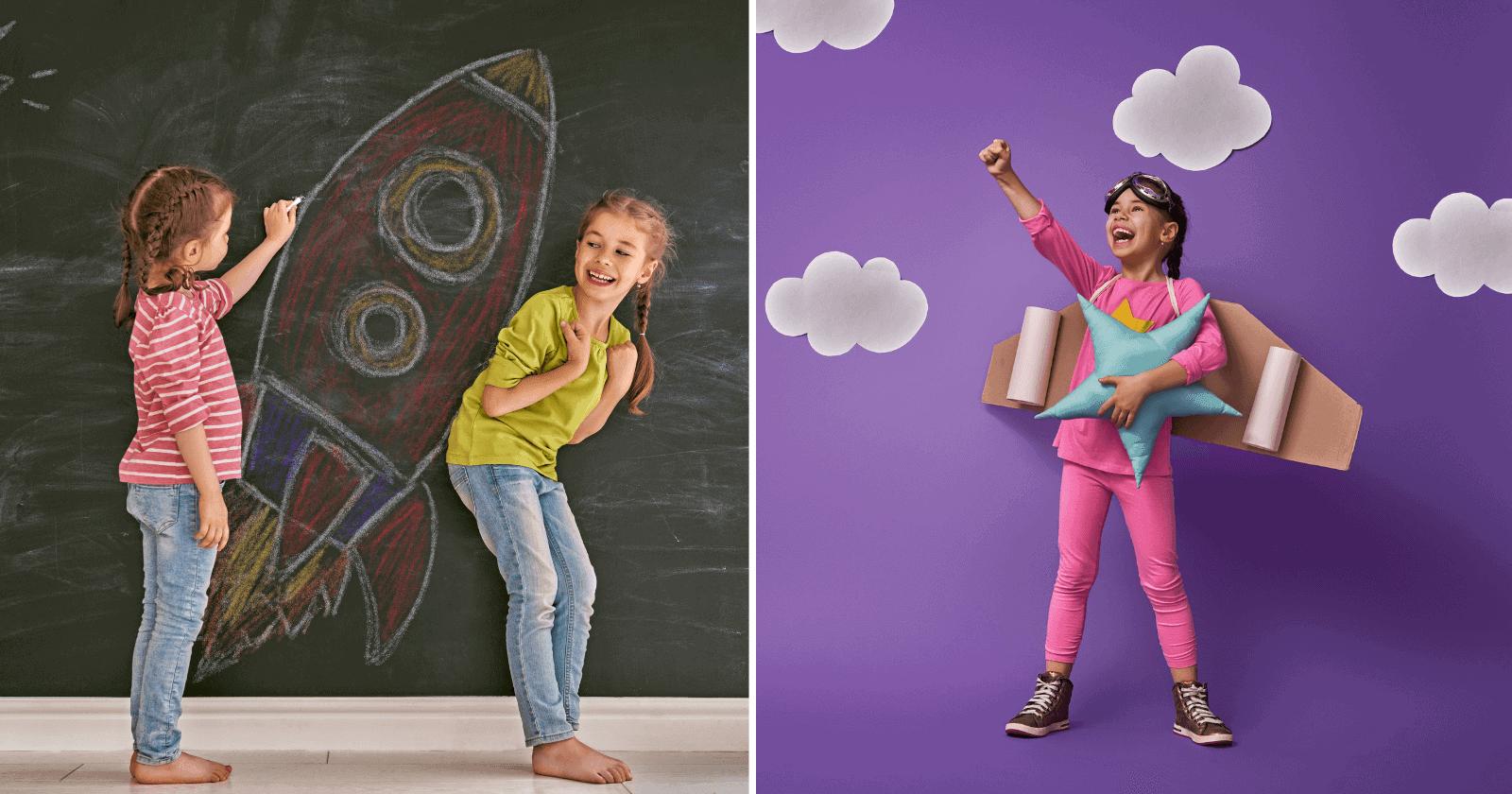 O verdadeiro significado por trás dos AMIGOS IMAGINÁRIOS das crianças