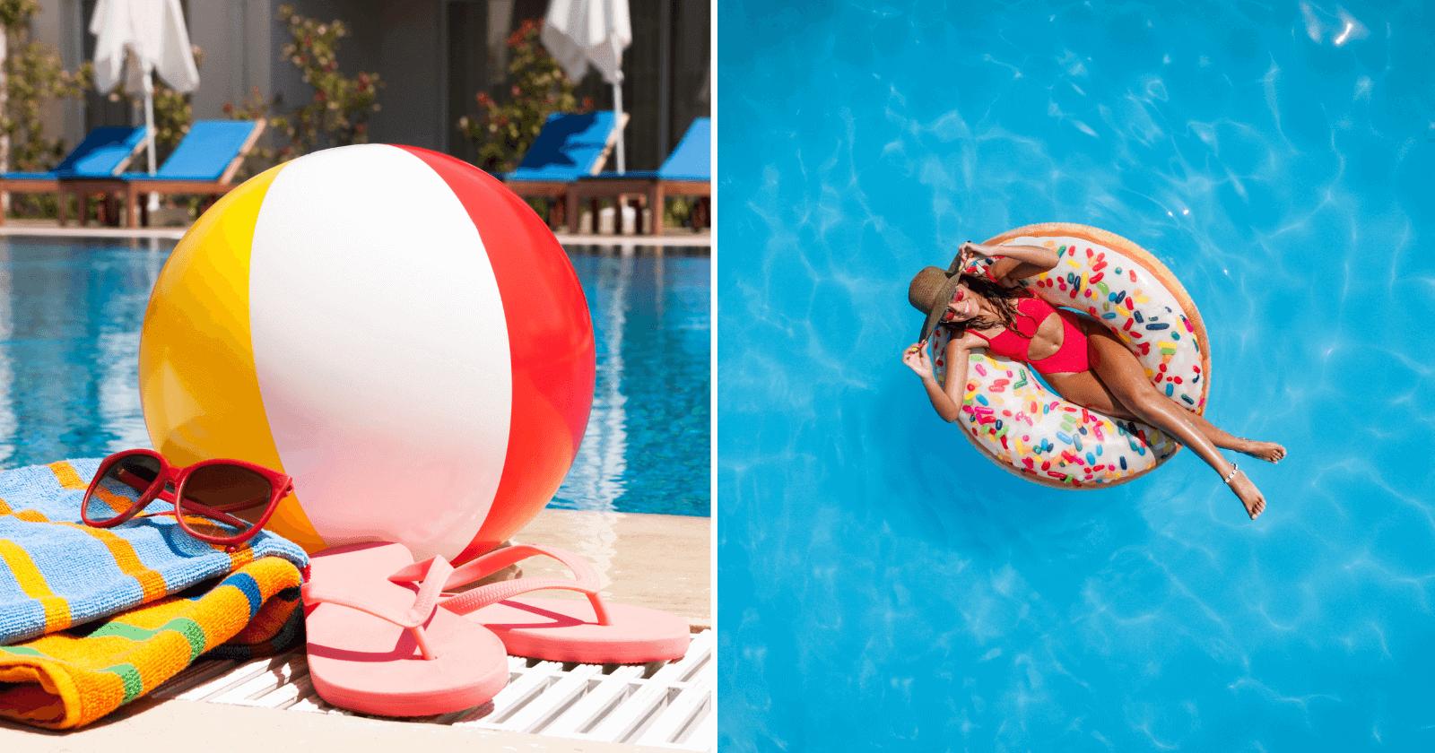 100 Legendas para Fotos na Piscina: melhorando seu dia também nas redes sociais!