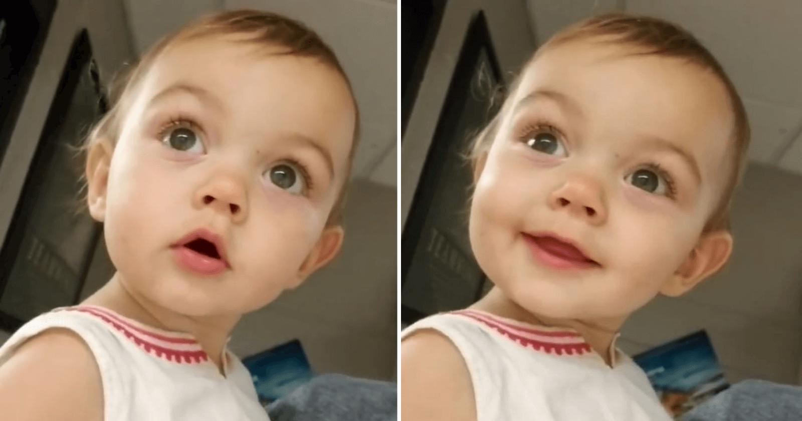 Reação de garotinha ao ouvir o eco pela PRIMEIRA vez é uma doçura!