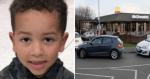Garotinho de 6 anos faz gentileza em drive-thru e fila inteira toma a mesma atitude