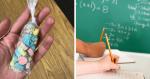 Sem poder pagar por um presente, uma aluna retirou lágrimas de sua professora lhe presenteando com...