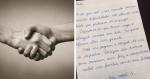 Mulher manda carta emocionante para inquilinos com a atitude mais linda desse Natal