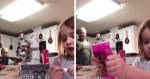 Garotinha filma atividade escolar e o que aparece no fundo do vídeo SURPREENDE