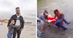 Ao ver idoso se afogar em rio Tejo, em Portugal, esse homem fez o que poucos teriam coragem