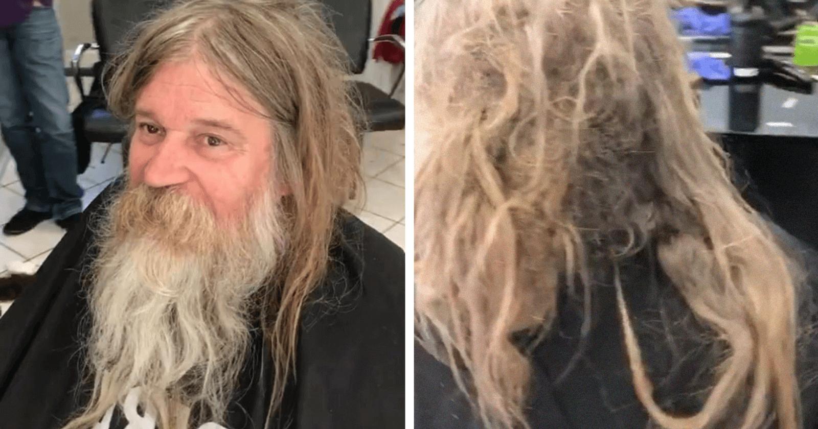 VIRAL: Barbeiro faz corte gratuito em morador de rua e transformação emociona a web