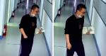 INSPIRADOR: Câmera filma professor cansado colocando um SORRISO no rosto antes de entrar em sala