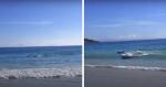 Turista tenta fazer vídeo de mar e por acaso acaba flagrando um momento INCRÍVEL