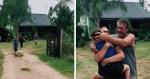 Reação de garotinho ao ver avós após um ano de quarentena é de arrancar lágrimas