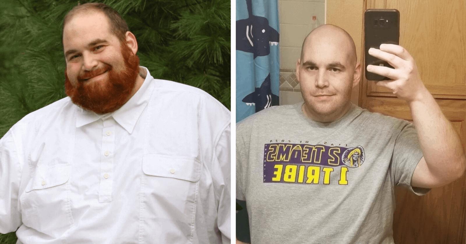 Homem que ficou famoso mudança ao perder peso recebe ataque na web e decide responder da melhor forma!