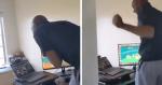 VÍDEO: professor inspira ao aparecer dançando antes de aula ONLINE para animar alunos