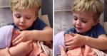 VÍDEO: Reação de garotinho ao ver irmãzinha pela primeira vez é emoção pura!