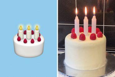 Jovem recria alimentos baseados nos emojis e se torna sensação da web com perfeições