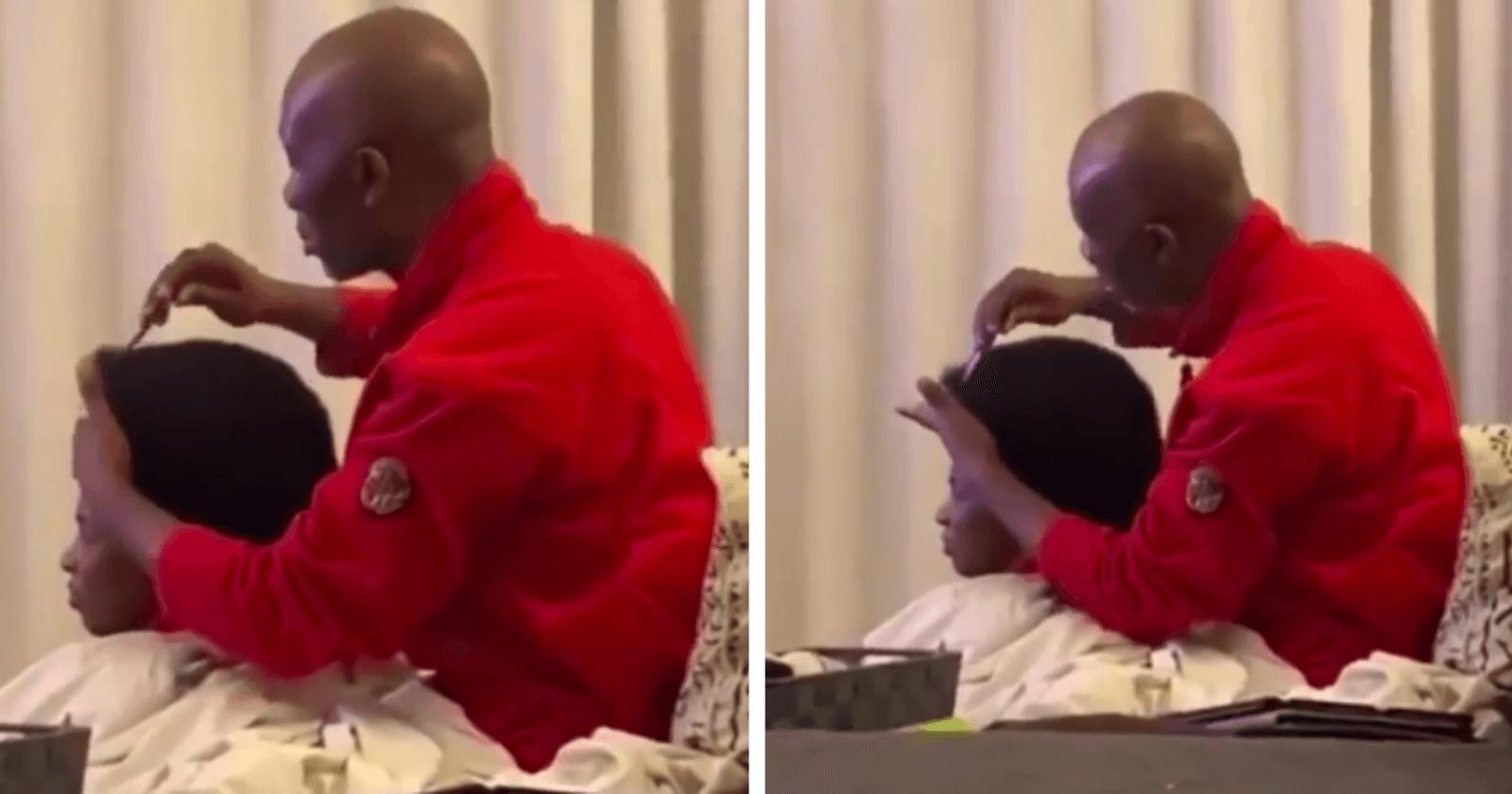 Filha flagra pai em momento romântico com sua mãe e afirma: 'ele faz isso há 23 anos'