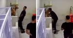 VIRAL: Ao dar banho em doguinho, funcionário de pet shop é FLAGRADO em dancinha contagiante