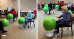 Casa de repouso compartilha exercício dos idosos e internautas se apaixonam por criatividade