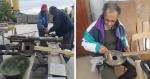 INSPIRAÇÃO: Artista cria projeto para transformar armas em instrumentos musicais