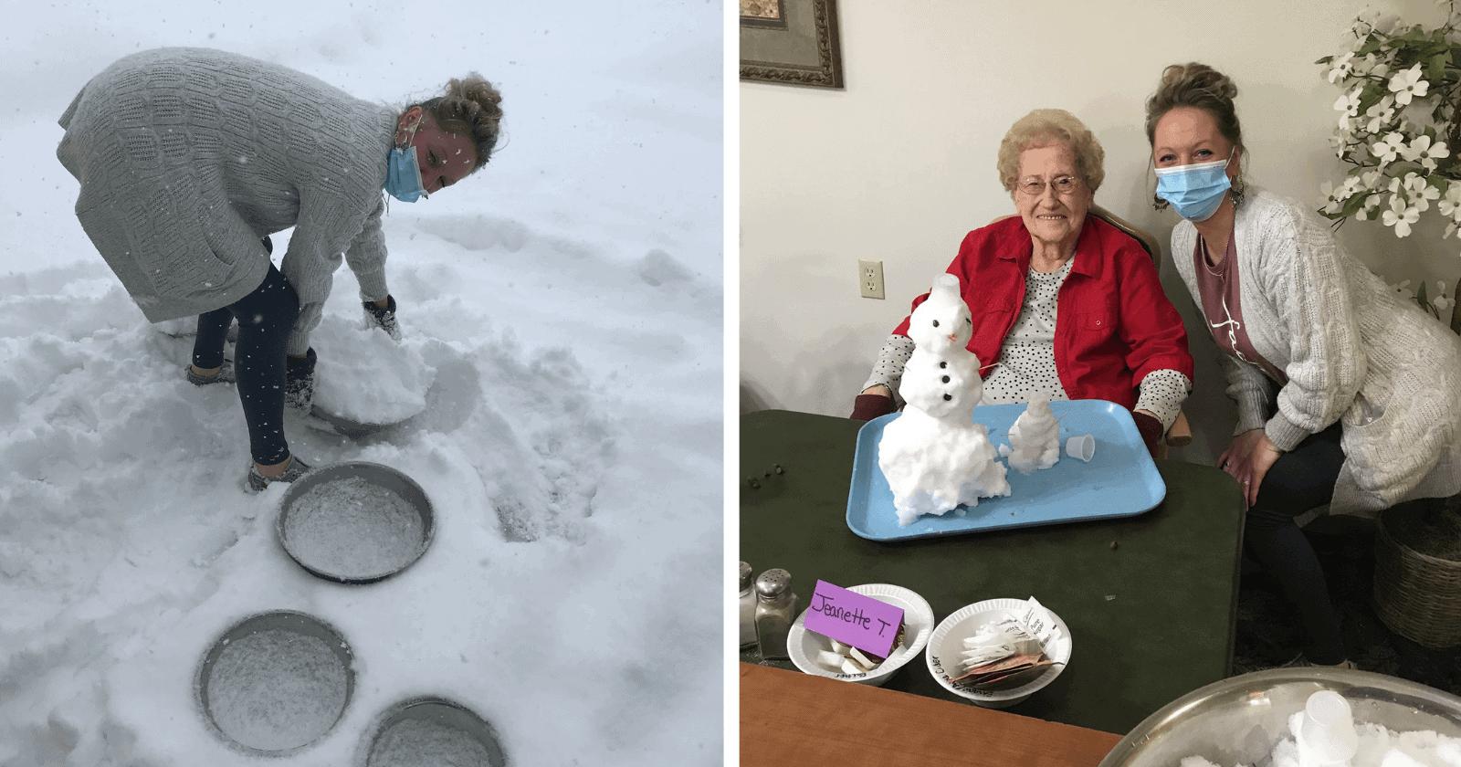 Casa de repouso cria atividade incomum para idosos e chama a atenção da web