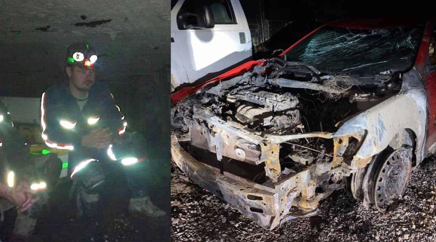 Desconhecido arrisca sua vida e salva mulher de acidente segundos antes de explosão