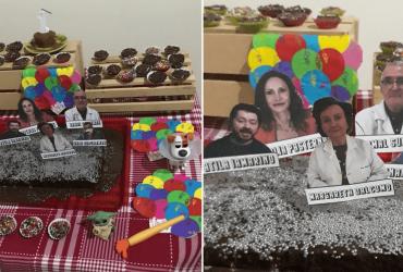 Mãe comemora aniversário de filho e tema do bolo se torna VIRAL