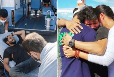 Piloto que estava desaparecido há mais de um mês é resgatado com vida