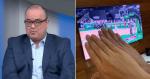 Pedido de casamento aparece no SporTV ao vivo e narrador 'dá forcinha' para o sim