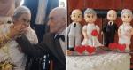 Asilo faz festa de casamento para casais que se conheceram e se apaixonaram no local