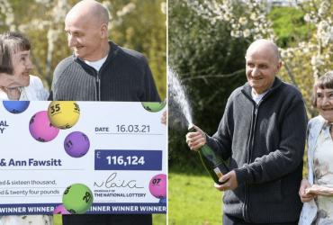 Idoso ganha na loteria após esquecer óculos em casa e marcar números 'errados' no bilhete