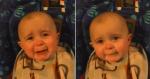 Ao ouvir mãe cantando, bebê se emociona e vai aos prantos com sua voz!