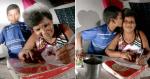 Mãe que trabalha como catadora de lixo aprende a ler e escrever com filho de 11 anos