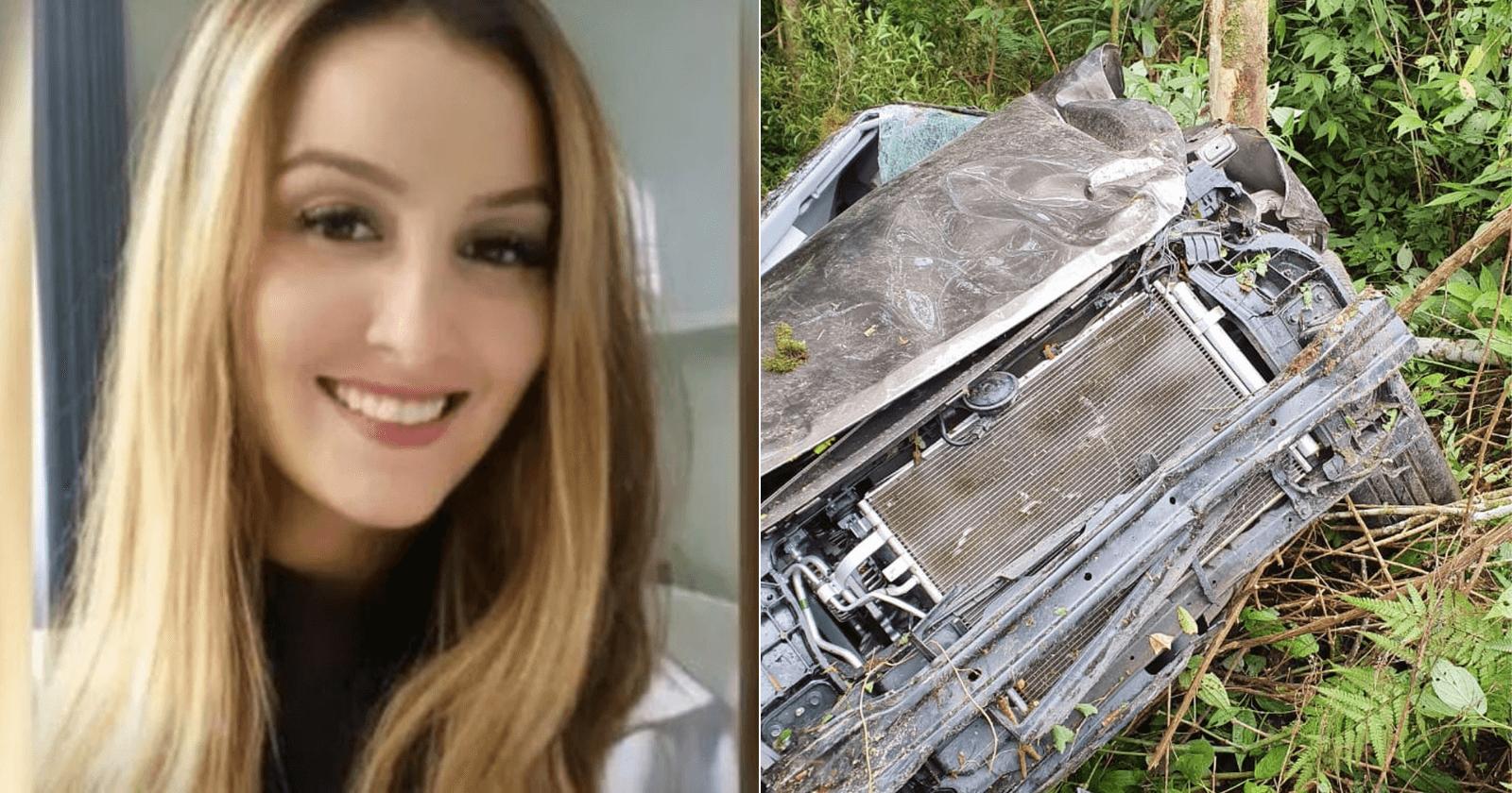 Médica é resgatada de acidente após passar quase 30 horas presa ao seu carro
