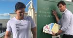 Professor que virou meme gabarita prova de matemática e enche alunos de orgulho