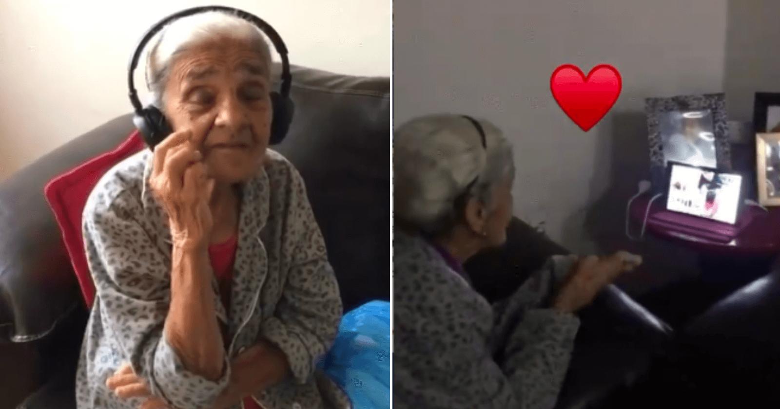 Vovó aprende a fazer videochamadas para matar saudade da família na quarentena