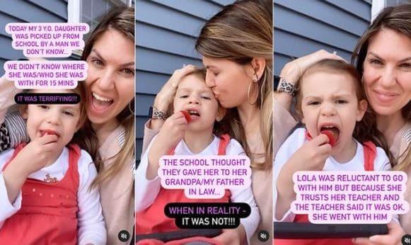 Após filha ter sido levada da escola por desconhecido, mãe dá ALERTA importante!
