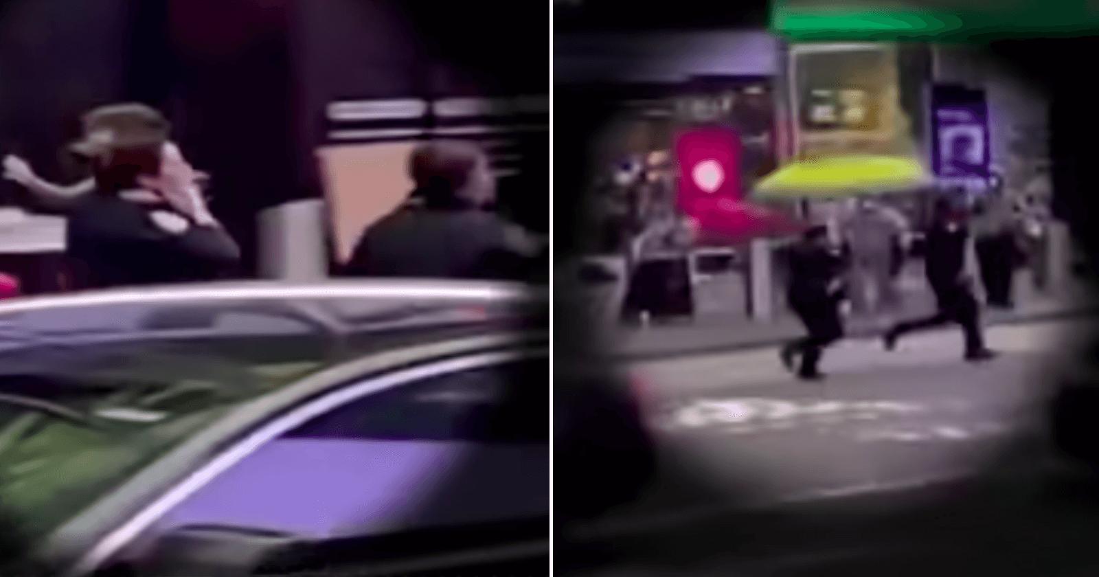 Policial entra em tiroteio e salva menina de 4 anos atingida