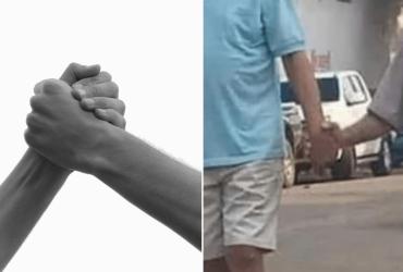 Foto de idosos de mãos dadas se torna viral e motivo é tão emocionante!