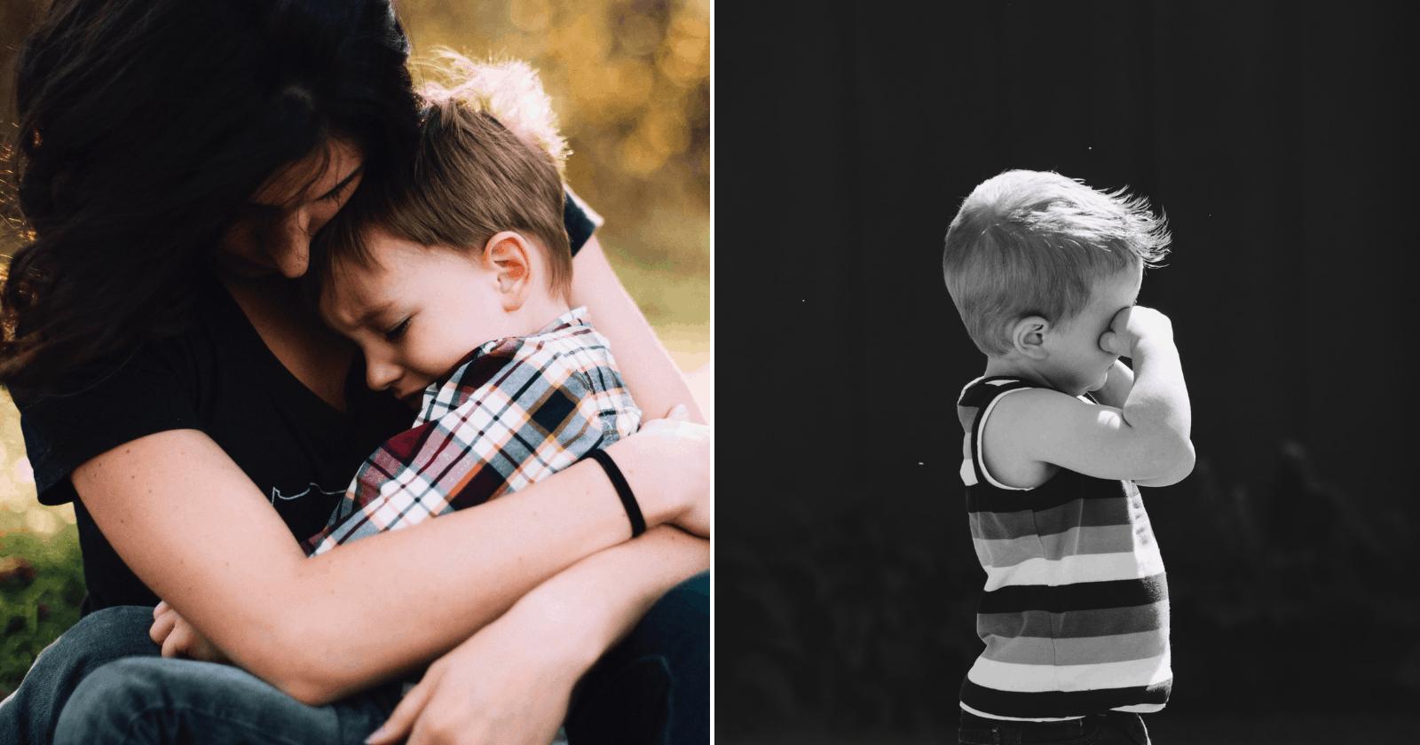 Um trauma não tratado pode causa ISTO em sua criança