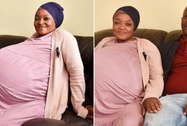 Mulher que esperava ter 8 dá à luz 10 bebês saudáveis
