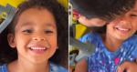 Após bullying por causa do cabelo, pai faz vídeo emocionante com filha